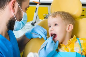 Your family dentist in 76132 caters to children.